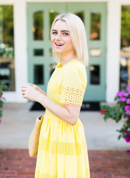 How To Wear The Yellow Dress Trend For Summer - Poor Little It Girl
