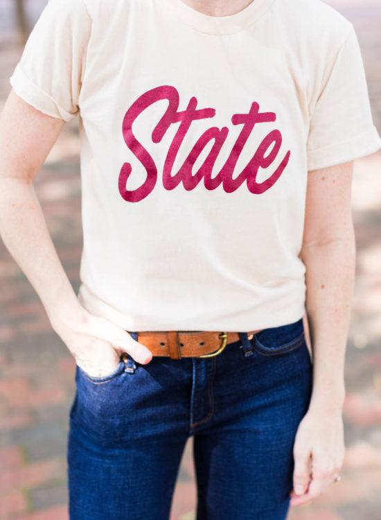 What To Wear To Watch A College Football Game - Poor Little It Girl