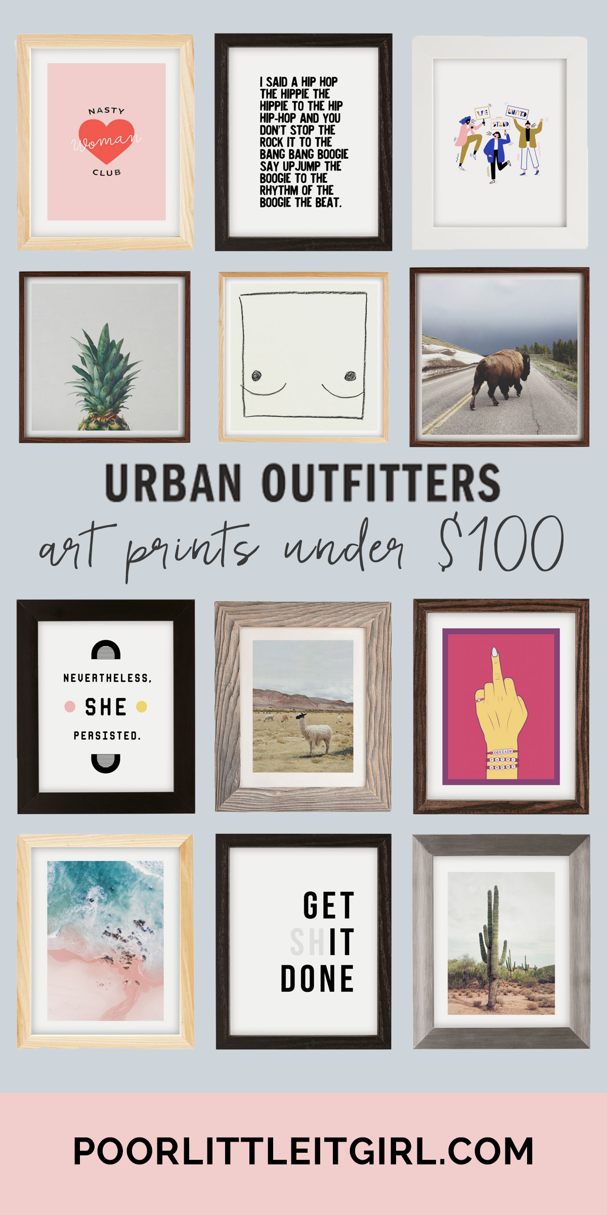 Art Prints Under $100 At Urban Outfitters - Poor Little It Girl
