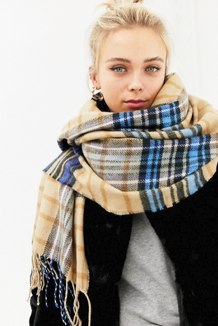 ASOS Blanket Scarves Under $40 - Poor Little It Girl